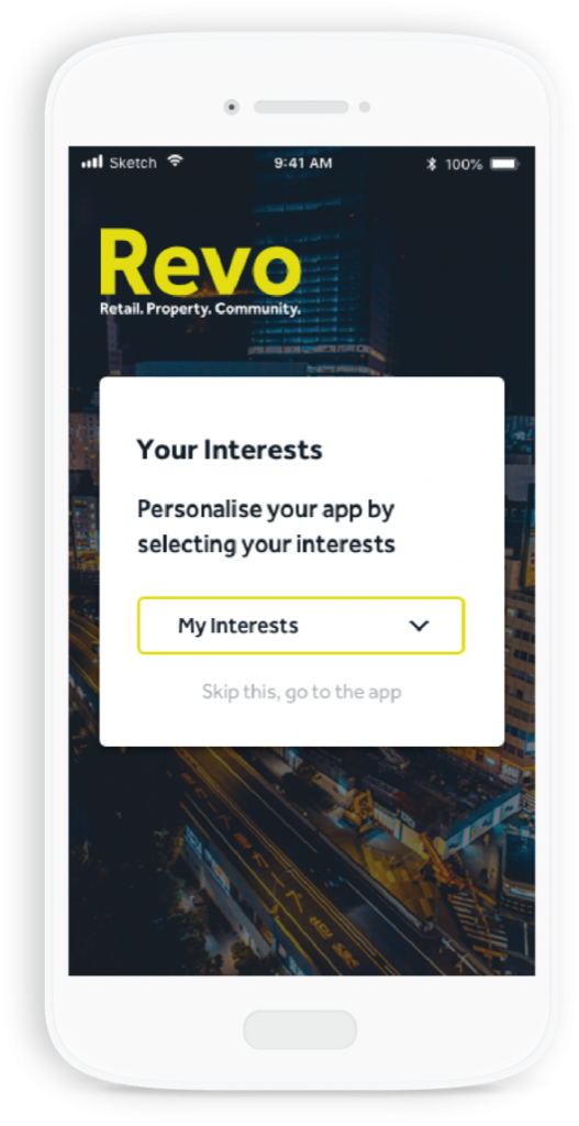 Revo interests by MemConnect