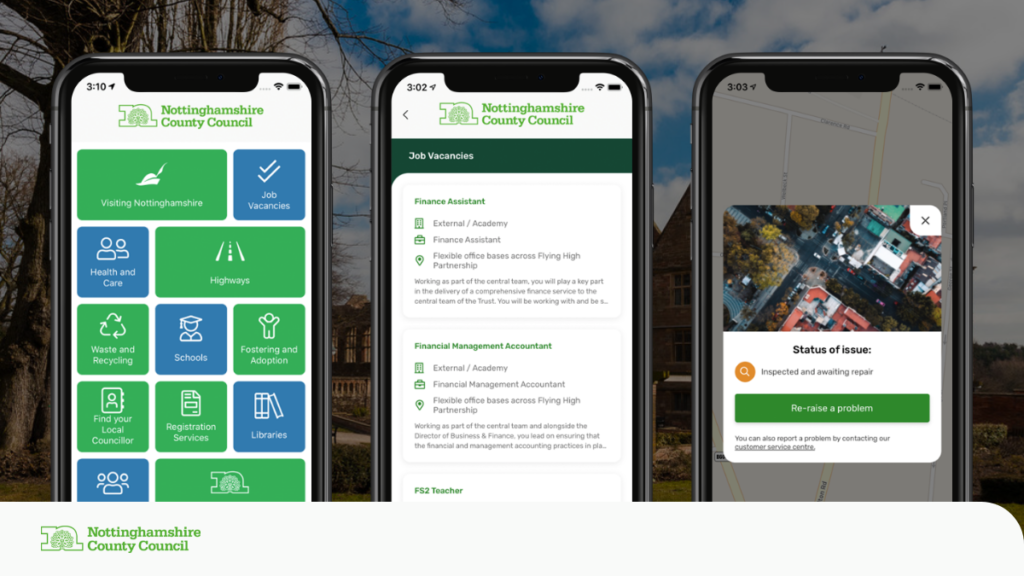 MyNotts Mobile App for Nottinghamshire County Council